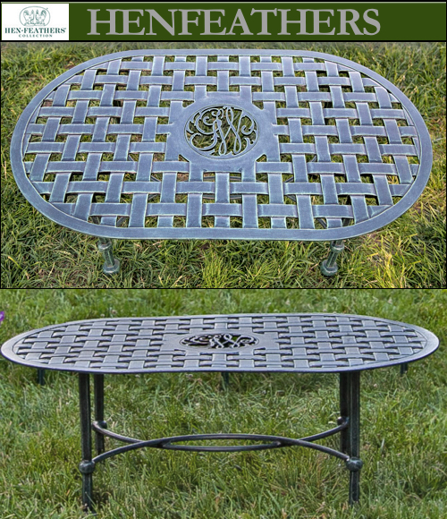 Mount Vernon Garden Furniture Collection Henfeathers Com
