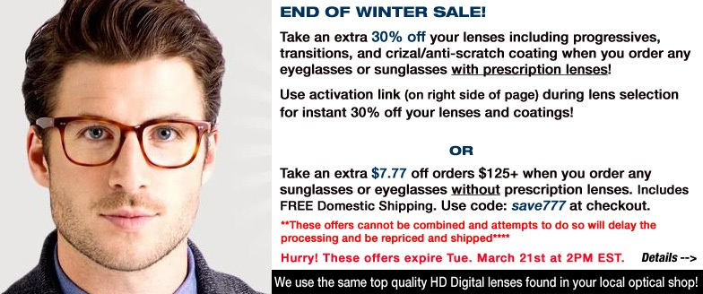 End Of Winter Sale!