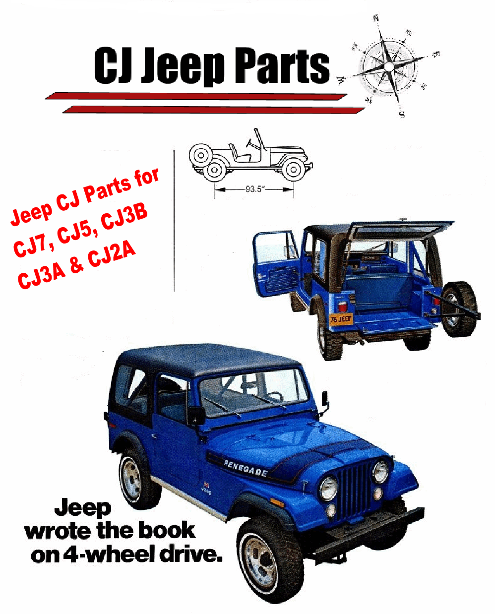 Jeep CJ Parts at CJJeepParts.com