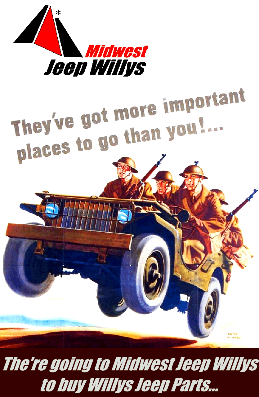 Willys Jeep Parts at MidwestJeepWillys.com