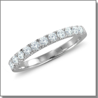 Diamond Wedding Anniversary Ring at My Love Wedding Ring