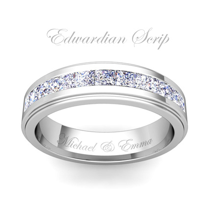 Free ring engraving engravable rings my love wedding ring for Engravings on wedding rings