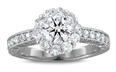 Engagement Rings with Sidestone